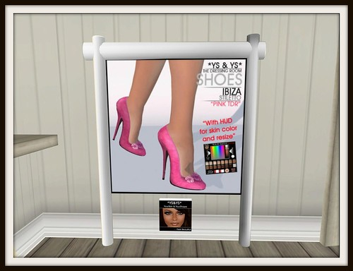 *YS&YS* Ibiza Stiletto Pink TDR, 50 lindens by Cherokeeh Asteria