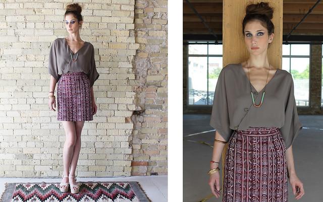 guate skirt