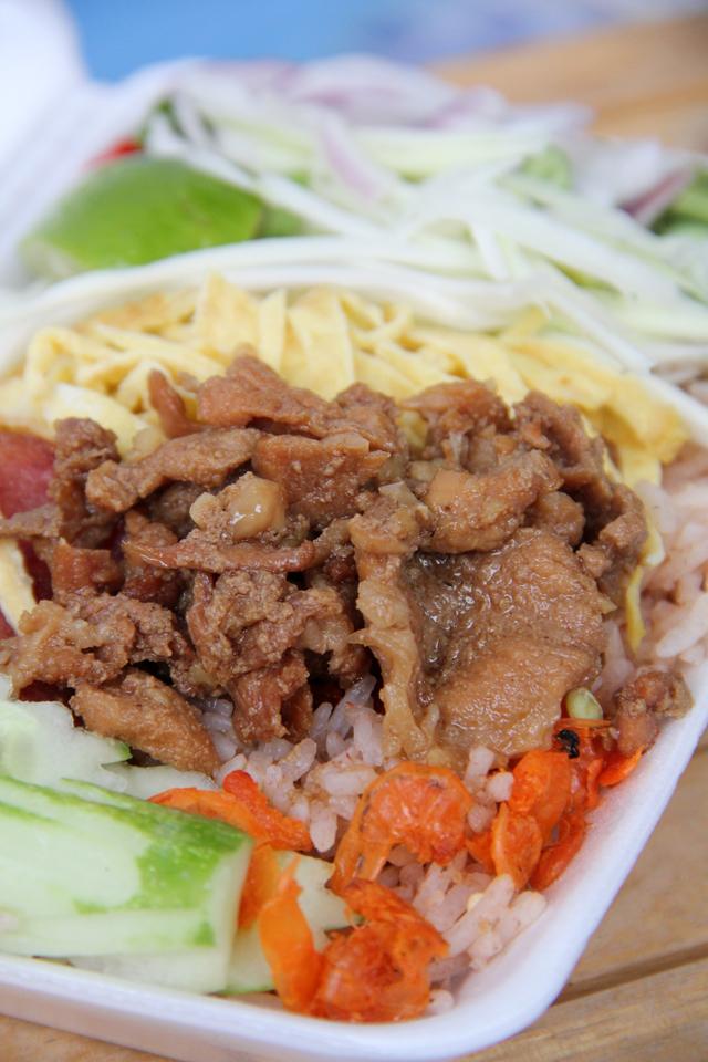 Kkao Kluk Kaphi (Shrimp Paste Rice Salad) ข้าวคลุกกะปิ