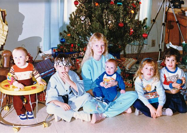 Karate Kid Christmas Ornament