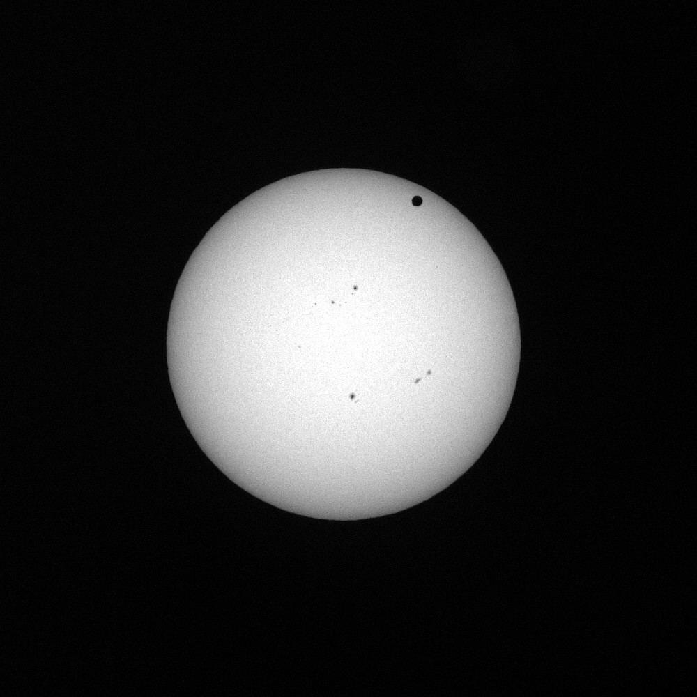 Venusdurchgang 6.Jun.2012