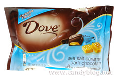 Dove Dark Chocolate with Sea Salt Caramel