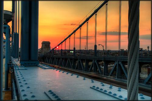 bridge philadelphia franklin ben pa hdr photomatix 3exp