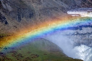 Rainbow across Gullfoss | by Daniel2005