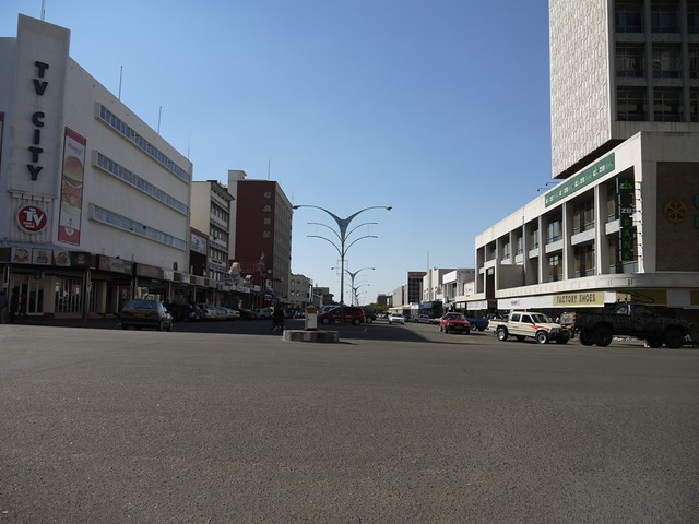 Downtown Bulawayo
