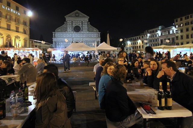 Food market by Santa Maria Novella