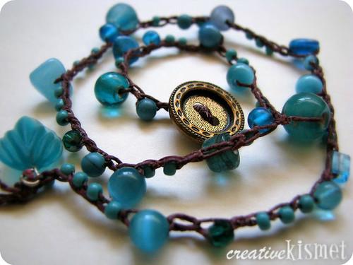 Beaded Crocheted Bracelet Video Tutorial Regina Lord Of Creative