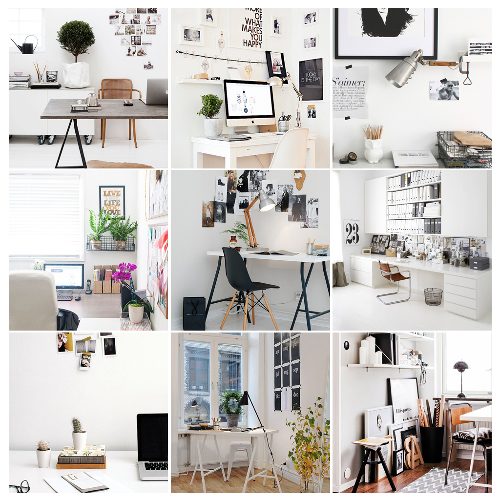 inspiration files // tidy your office day