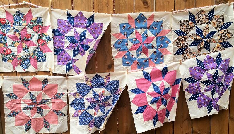 Vintage Quilt Blocks 6