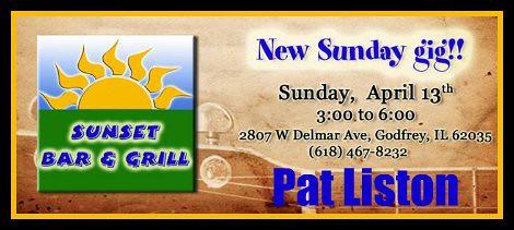 Pat Liston 4-13-14