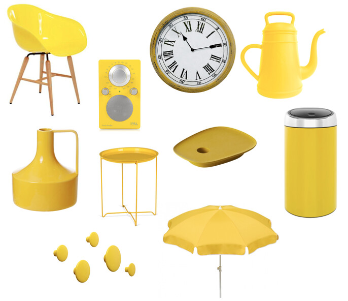 Gele woonaccessoires - de kleur van Pasen