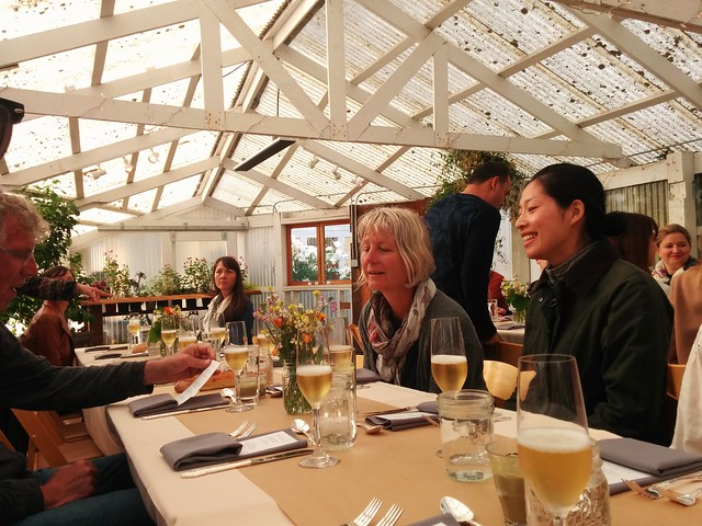 Dinner at Heidrun Meadery