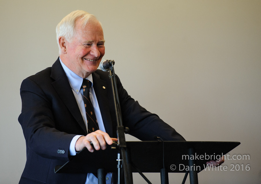 Governor General David Johnston at the AC - May 2016 322