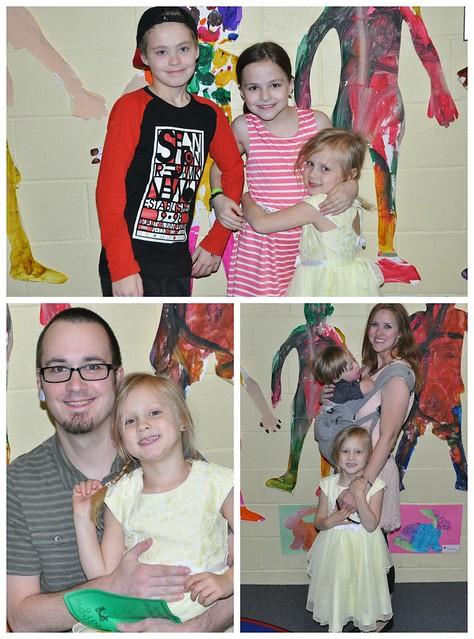 Lily's Preschool Art Show