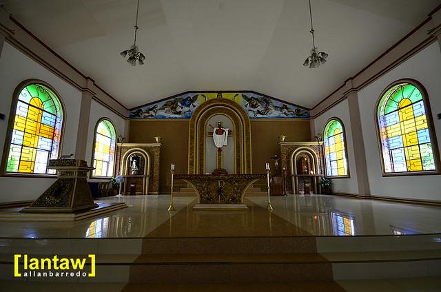 Larena Church Altar