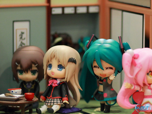 Hideyoshi, Kud, Miku RQ, and Theia