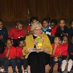 March 2012~Presentation of fundraising check to Glazer Elementary School