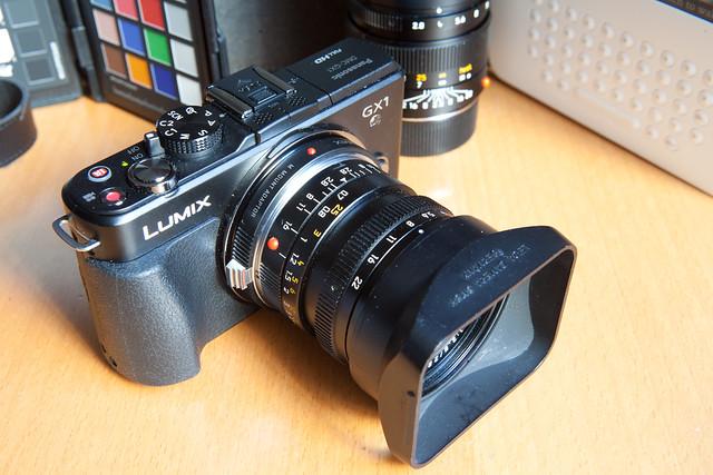 6894195206 d788bb08ff z Panasonic Lumix DMC GX1, una pequeña grande