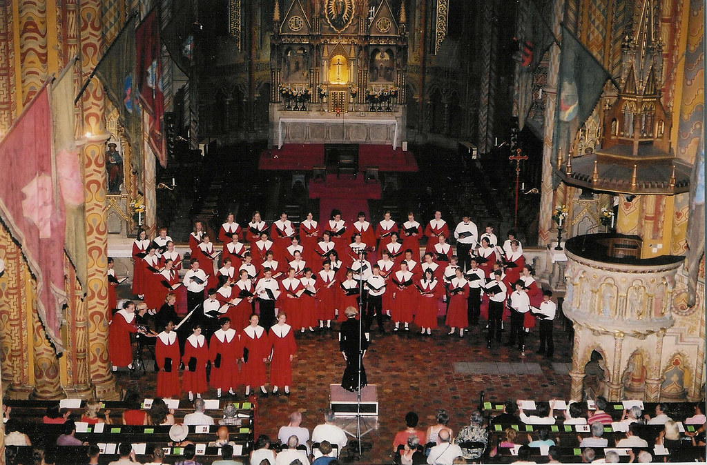 Toronto Children's Chorus performs at Mathias Church in Budapest, Hungary