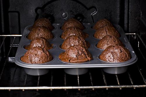 Кексы шоколадные легкиеы