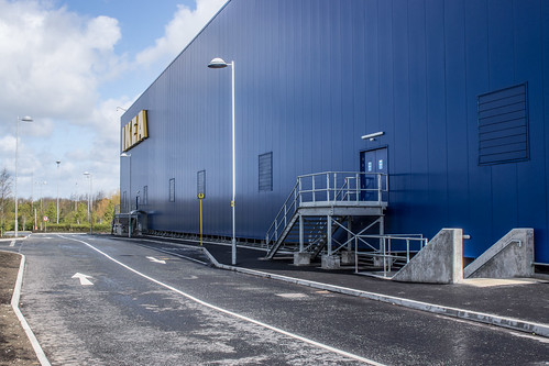 IKEA store just off the Ballymun Road