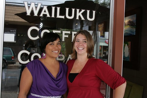Megan Childers & Jackie Gorin (Not Chef Naki Kanekoa)