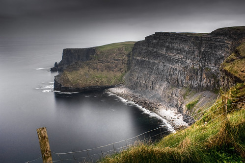 ocean ireland sea landscape cloudy cliffs atlantic cliffsofmoher hdr countyclare