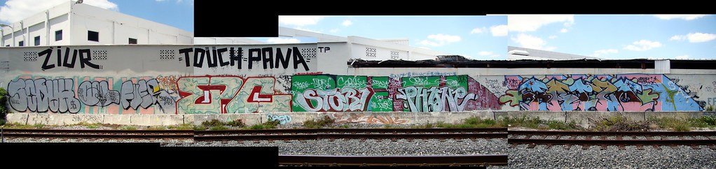Tri-Rail Wall: Golden Glades