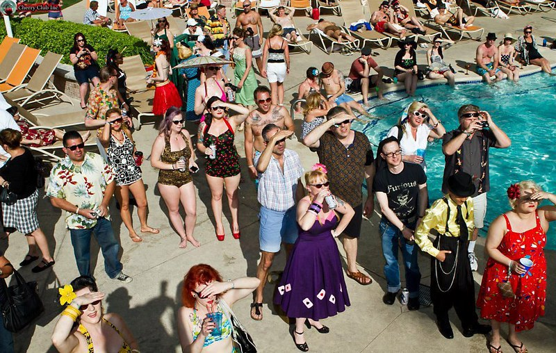 Viva Las Vegas 2012 Pool Party