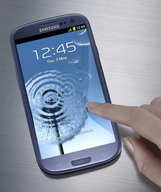 Samsung Galaxy S3 - Pebble Blue