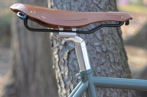 Paul Seatpost, Selle Anatomica Saddle