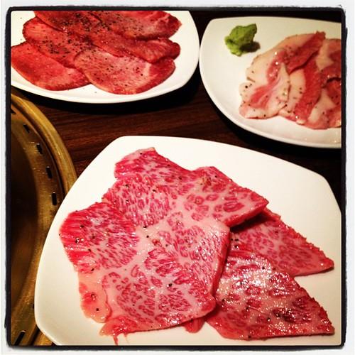 やっぱ肉だよねー。
