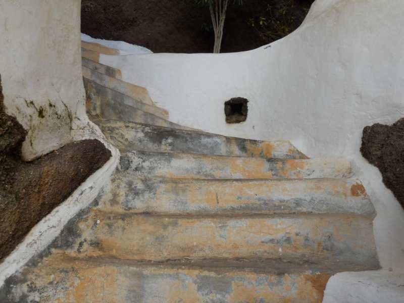Escalera en jardines Omar Sharif Lanzarote 13