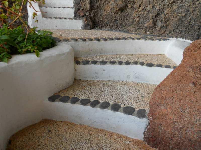 Escalera en jardines Omar Sharif Lanzarote 21
