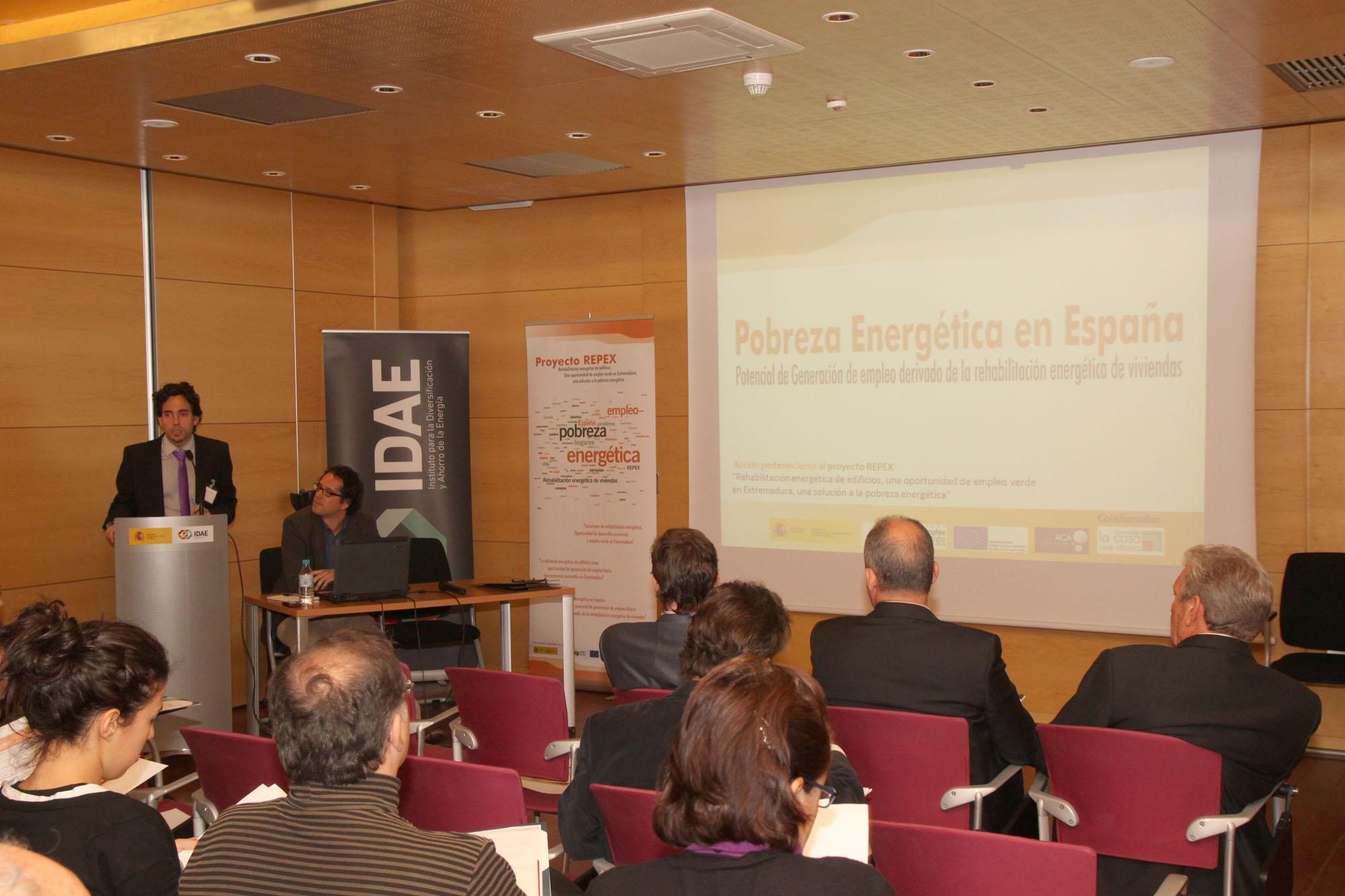 Presentación del Estudio de Pobreza Energética en España
