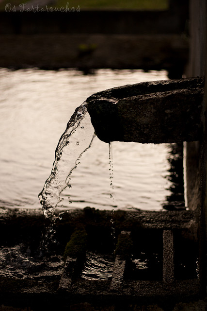 Un pequeno cambio coa auga