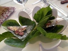 2º Acto: Mesa de Salazones @ Quique Dacosta Restaurant