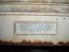 Urn makers plate