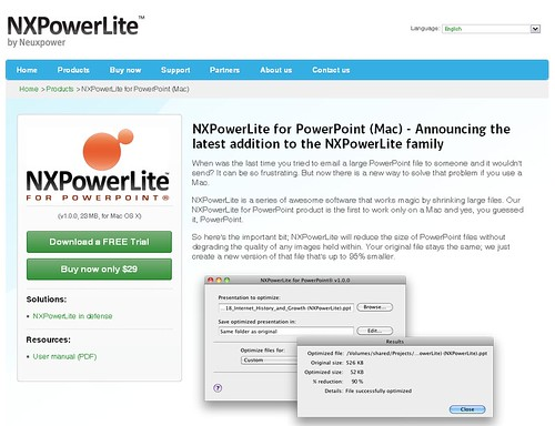 NXPowerLite for Mac
