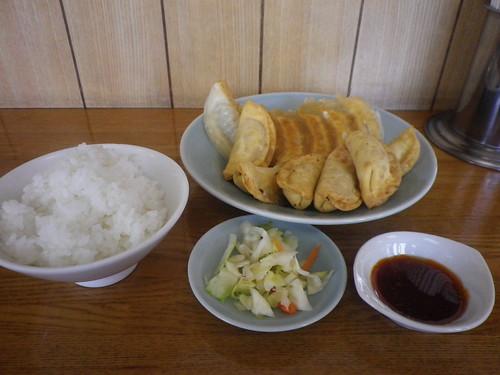 焼餃子&揚餃子