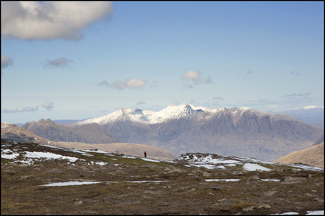 Lone Walker and An Teallach