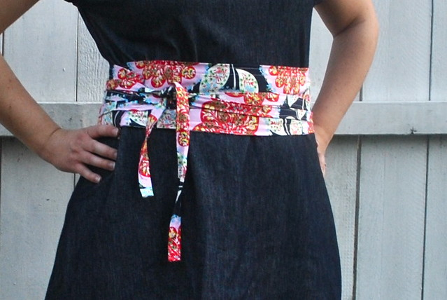 Fabric Wrap Belt