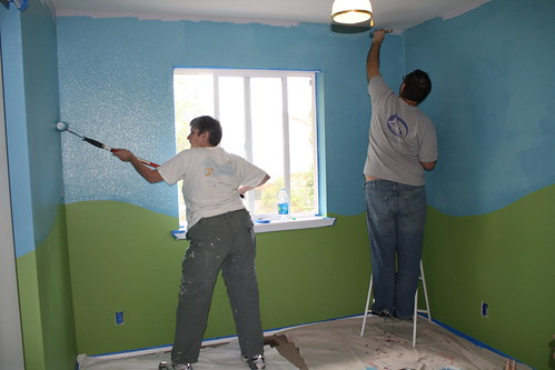 Painting Baby Room 1