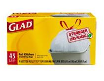 Glad Tall Kitchen Drawstring Trash Bag Coupon