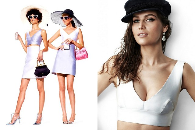 Toni Garrn & Kendra Spears by Mariano Vivanco for Muse Spring 2012, Laetitia Casta by Mario Testino for Vogue Paris May 2012