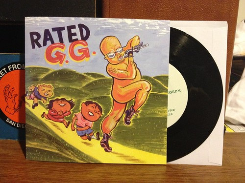 "Various Artists - Rated G.G. 7"" (Ted Leo, Ben Gibbard, & More) by Tim PopKid"