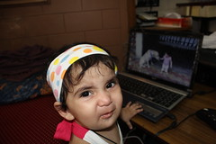 The Only Drama Queen in My House - Nerjis Asif Shakir 11 Month Old by firoze shakir photographerno1