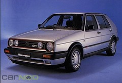 automobile, family car, volkswagen, vehicle, volkswagen golf mk2, city car, land vehicle, hatchback,