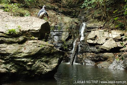 Barangay Agbaliga Waterfalls in Romblon Island, Romblon