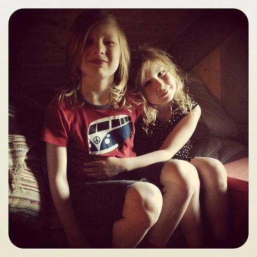 Viggo och Klara på vinden